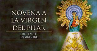 Hoy se inicia la novena a Nuestra Señora del Pilar, patrona de la hispanidad