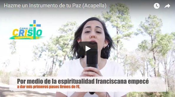 Video: Margarita Diego – Hazme un Instrumento de tu Paz